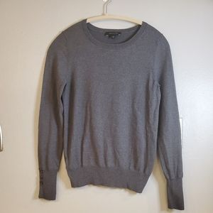 Ann Taylor Grey knit sweater